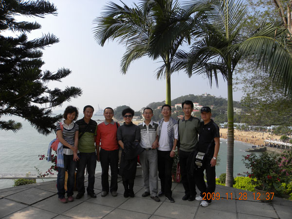 2009年公司奖励优秀员工、优秀管理者海南、三亚游